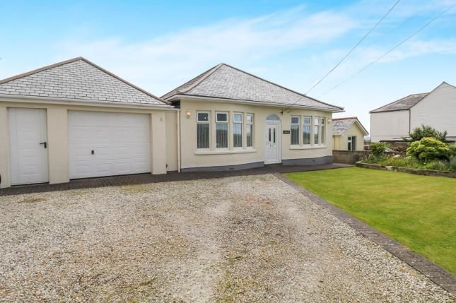 Thumbnail Bungalow for sale in Delabole, Cornwall, North Cornwall