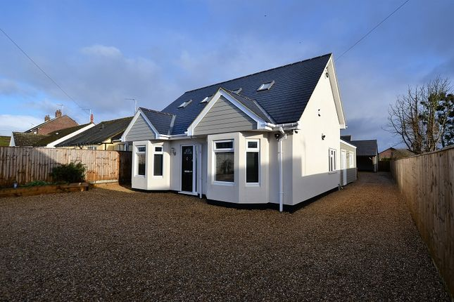Thumbnail Detached house for sale in Wootton Road, Kings Lynn, Norfolk.