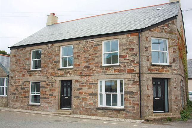 Thumbnail End terrace house to rent in Five Lanes, Near Launceston