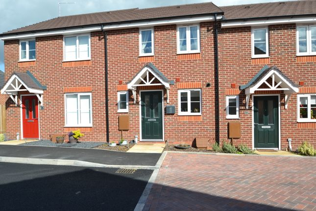 Thumbnail Terraced house to rent in Saxon Drive, Newport