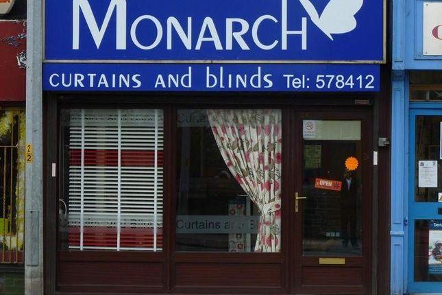 Thumbnail Retail premises for sale in Higher Market Street, Farnworth, Bolton