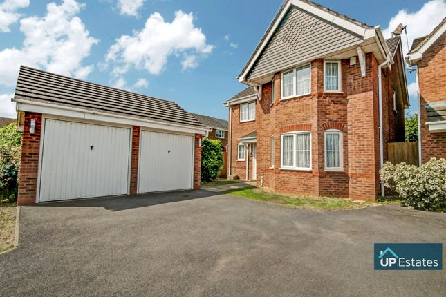 4 bed detached house for sale in Mercers Meadow, Keresley End, Coventry CV7