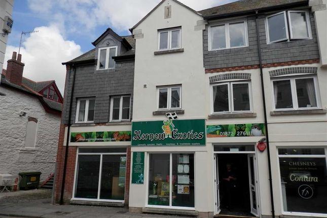 Thumbnail Retail premises for sale in Unit One, 6, Quay Street, Truro