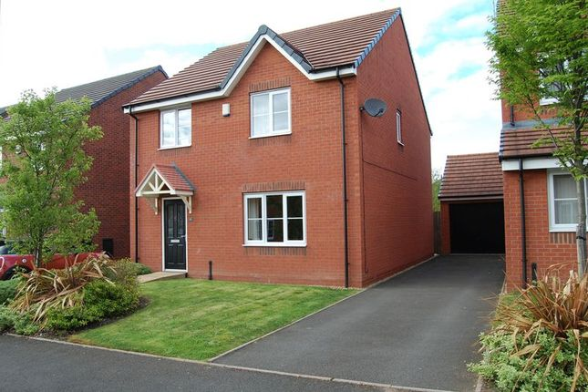 Thumbnail Detached house for sale in Rakegate Close, Oxley, Wolverhampton