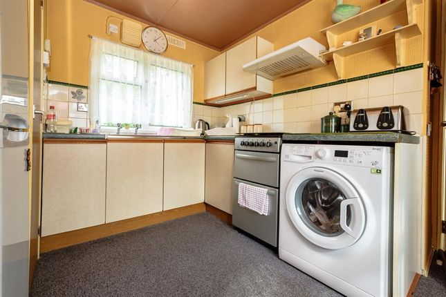 Kitchen of The Glade, Caerwnon Park, Builth Wells LD2