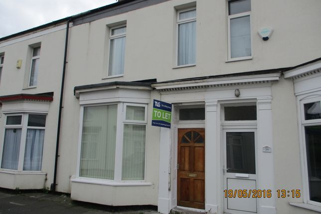 Thumbnail Terraced house to rent in Woodland Street, Stockton On Tees