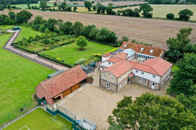 Thumbnail Detached house for sale in Watton Road, Great Hockham, Thetford