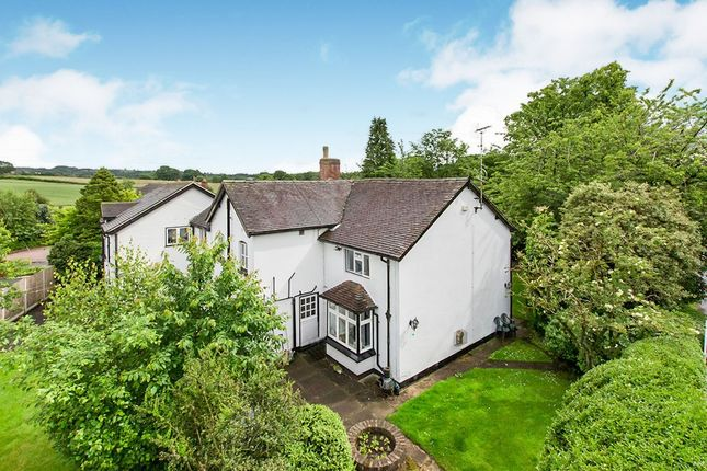 Thumbnail Detached house for sale in Congleton Road North, Church Lawton, Stoke-On-Trent