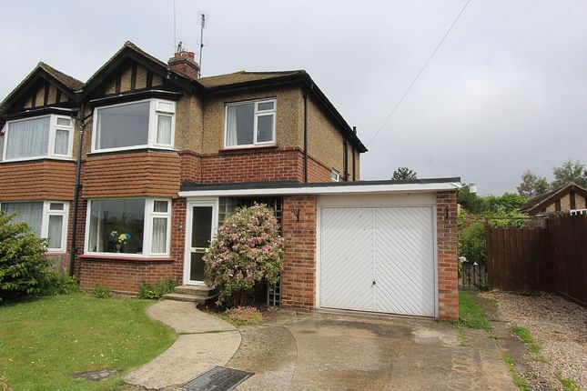 Thumbnail Semi-detached house for sale in Kensington Road, King's Lynn, Norfolk