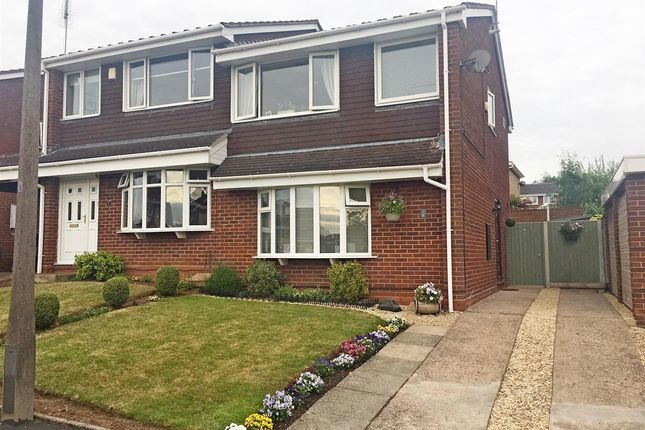 Thumbnail Semi-detached house to rent in Rookswood Copse, Stafford