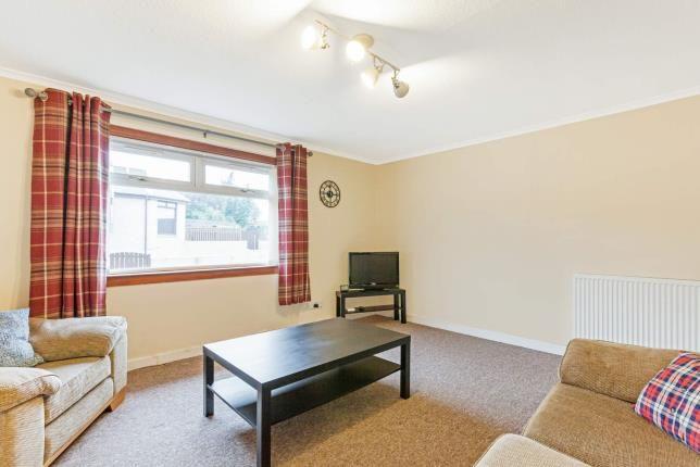 Living Room of Barnhill Street, Greenock, Inverclyde PA15