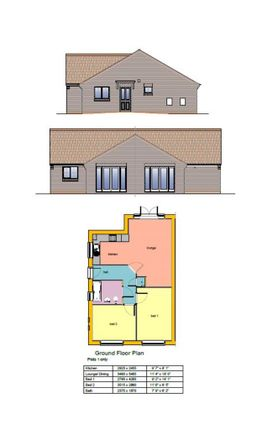 Semi-detached bungalow for sale in Vianney Court, King Oswy Drive, Hartlepool