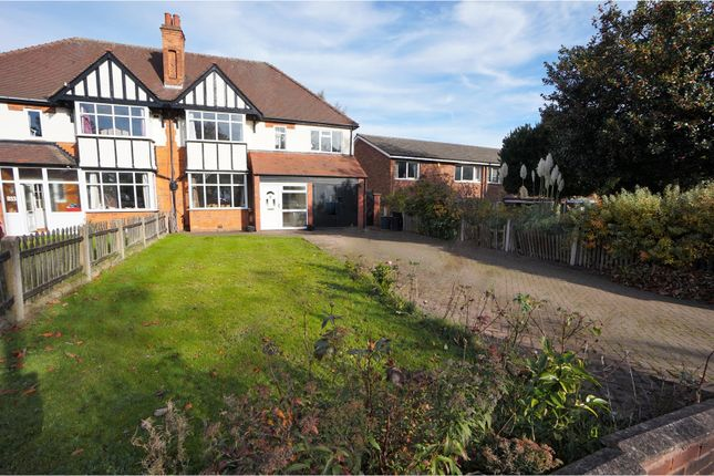 Thumbnail Semi-detached house for sale in Chester Road, Birmingham