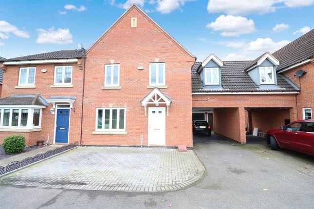 Thumbnail Town house for sale in Presland Way, Irthlingborough, Wellingborough