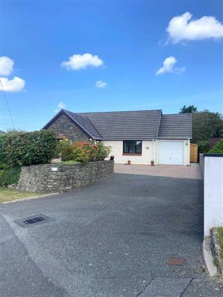 Thumbnail Detached bungalow for sale in Vale Road, Houghton, Milford Haven