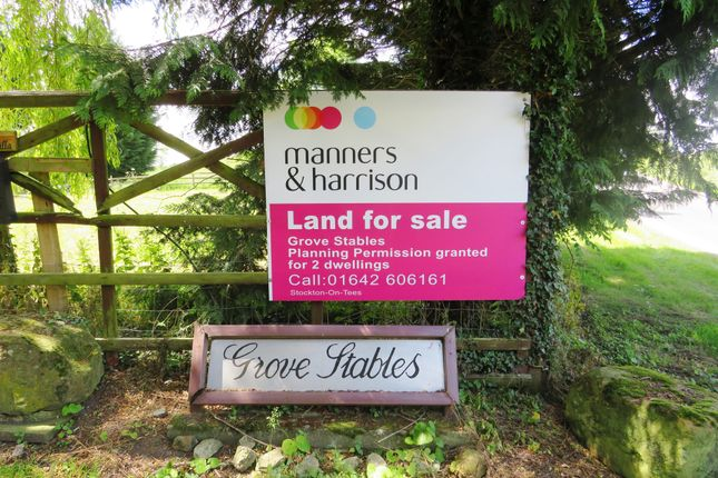 Thumbnail Land for sale in Grove Stables, Kirklevington, Yarm