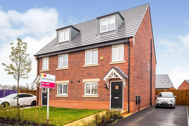 Thumbnail Semi-detached house for sale in Tighe Avenue, Winsford