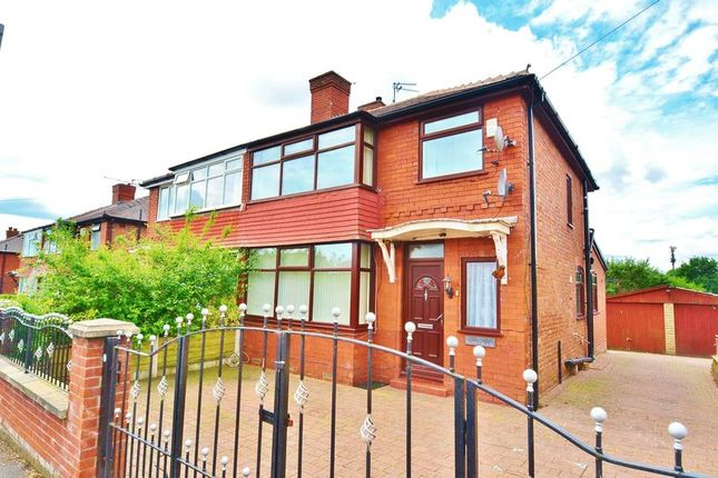 Thumbnail Semi-detached house for sale in Runnymeade, Swinton, Manchester