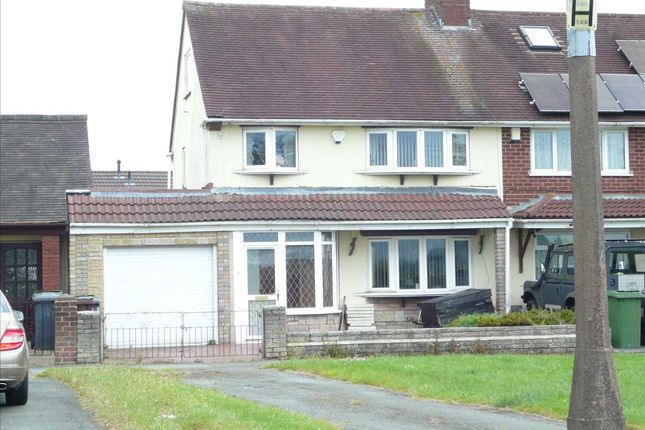 Thumbnail Semi-detached house for sale in Kitchen Lane, Wednesfield, Wednesfield