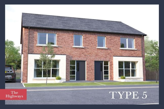 3 bed semi-detached house for sale in The Highways, Ballyhampton Road, Larne BT40