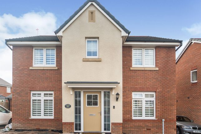 Thumbnail Detached house for sale in Highfields, Tonyrefail, Coedely