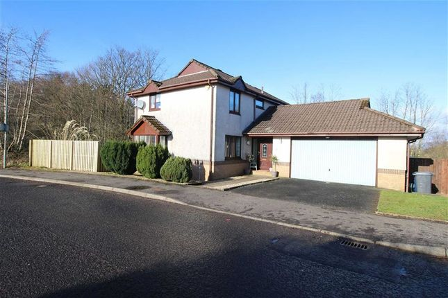 Thumbnail Detached house for sale in Swallow Brae, Inverkip Greenock, Renfrewshire