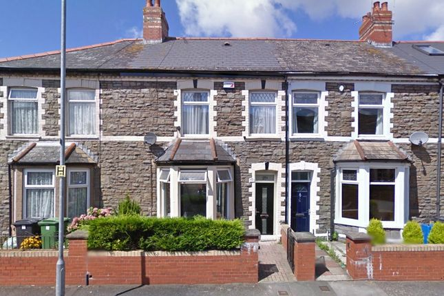 Thumbnail 3 bed terraced house to rent in Cambridge St, Grangetown, Cardiff