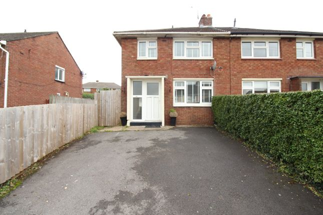 Thumbnail Semi-detached house for sale in Greenfield Road, Rogerstone, Newport