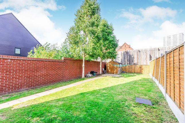 Rear Garden of Key Gardens, Wolverhampton WV10