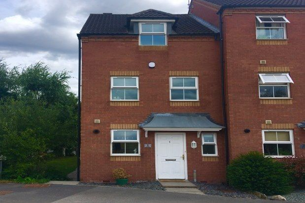 Thumbnail Town house to rent in Dunsil Close, Mansfield