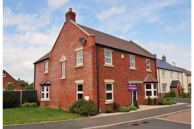 Thumbnail Detached house for sale in Fothersway Close, Badsey, Evesham
