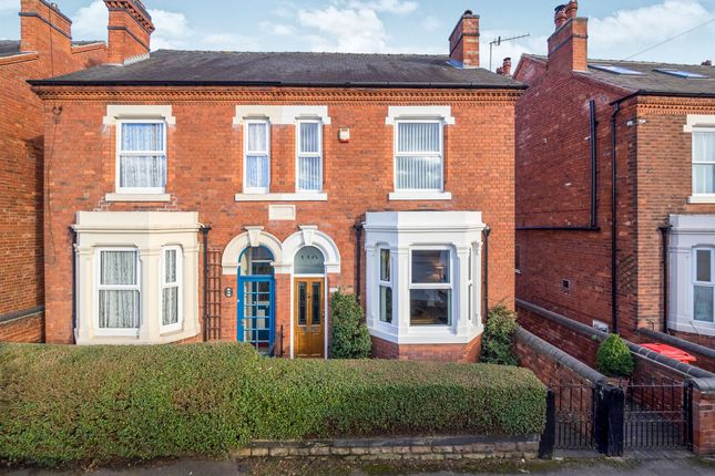 Thumbnail Semi-detached house for sale in Hucknall Lane, Bulwell, Nottingham