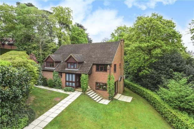 Thumbnail Detached house for sale in Whittle Close, Sandhurst, Berkshire