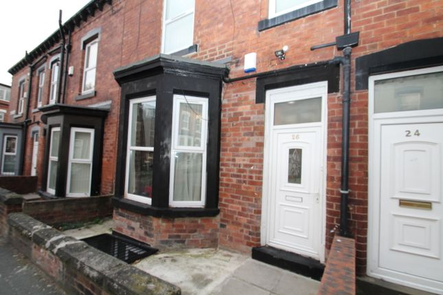 Thumbnail Terraced house to rent in Norwood Terrace, Hyde Park, Leeds