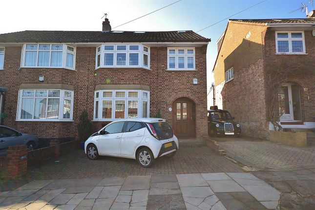 Thumbnail Semi-detached house for sale in Copthorne Avenue, Ilford
