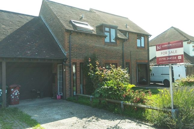 Thumbnail Terraced house for sale in Orchard Close, Petworth