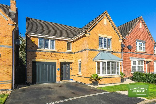Thumbnail Detached house for sale in Curlew Drive, Watermead Grange, Brownhills