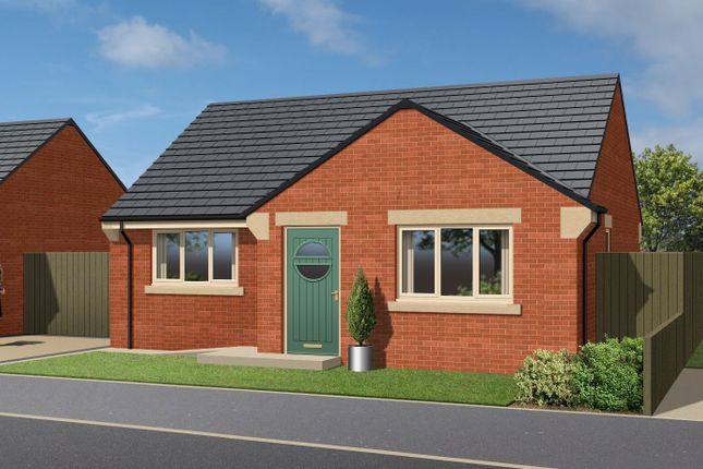 Thumbnail Detached bungalow for sale in Plot 1, Hardwick Crescent, Athersley South, Barnsley