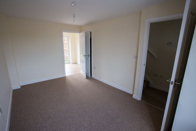"Thumbnail Terraced house for sale in ""The Alnwick"" at Brookside, East Leake, Loughborough"