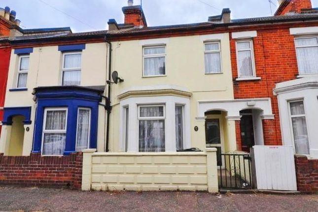 Thumbnail Terraced house to rent in Gwynne Road, Harwich