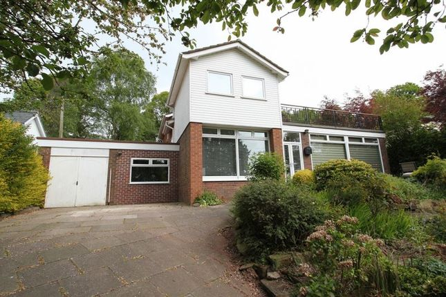 Thumbnail Detached house for sale in Manor Road, Madeley, Crewe