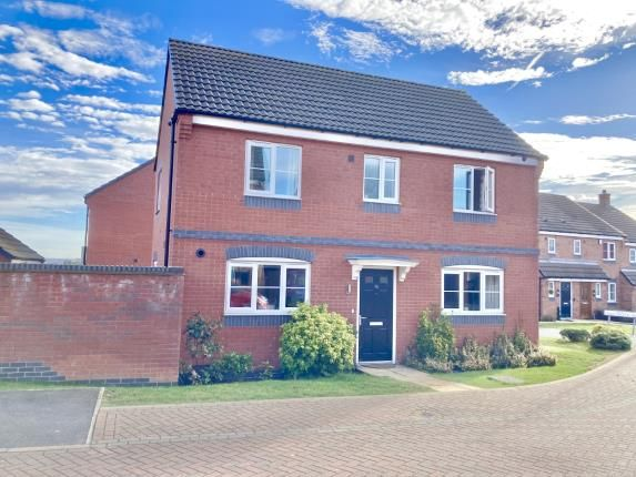 Thumbnail Detached house for sale in Long Swath Way, Birstall, Leicester, Leicestershire