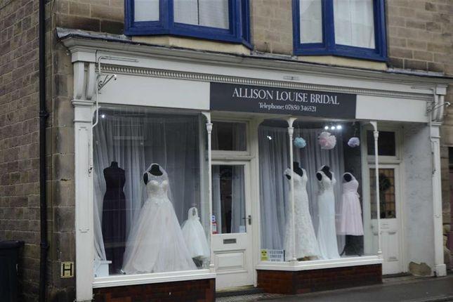 Retail premises to let in Bridge Street, Belper, Derbyshire