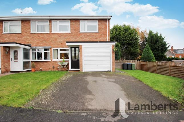 3 bed semi-detached house for sale in Albury Road, Studley B80