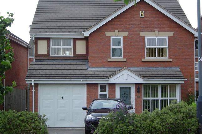 Thumbnail Detached house to rent in Bolingbroke Drive, Heathcote, Warwick