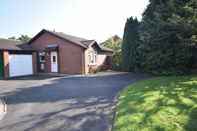 Thumbnail Detached bungalow for sale in Oakbridge Court, Tenbury Wells