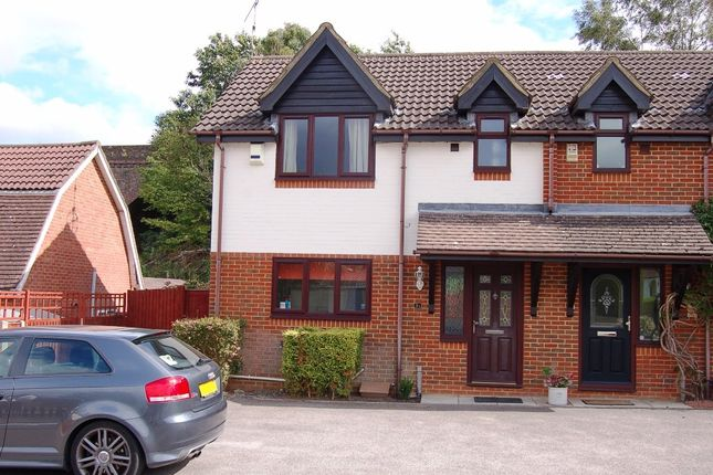 Thumbnail Semi-detached house to rent in Waverley Road, Bagshot