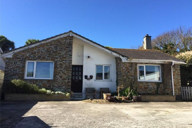 Thumbnail Detached bungalow for sale in Tywarnhayle Road, Perranporth
