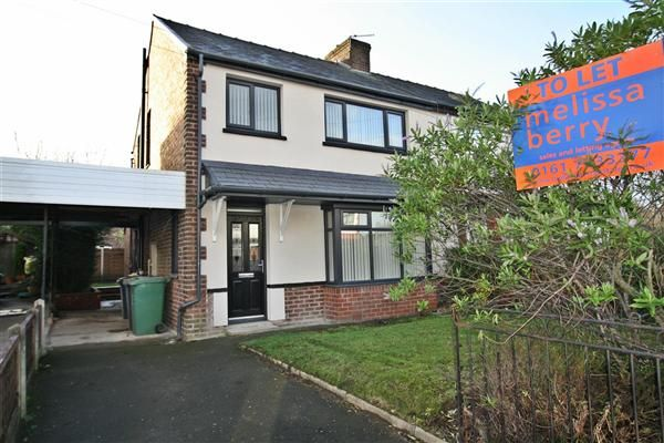 Thumbnail Semi-detached house to rent in Lilac Grove, Prestwich, Manchester