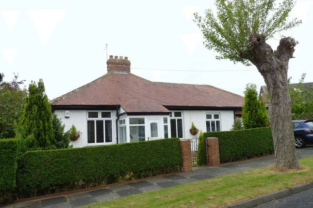 Thumbnail Bungalow for sale in Collingwood Road, Wellfield, Whitley Bay
